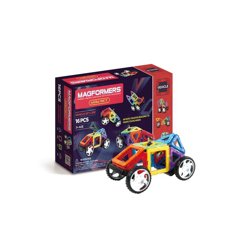 百变造型磁力小车 · 儿童磁力片益智玩具vehicle车辆系列 战神小车16