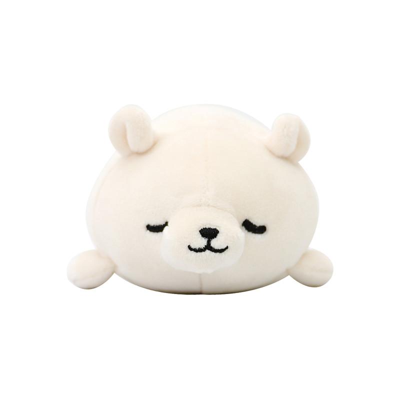小小萌物轻松减压 · nemu nemu系列q版弹力手握玩偶 象牙白 北极熊