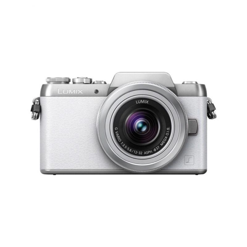松下dmc-gf7kgk-w 微单照相机 白色