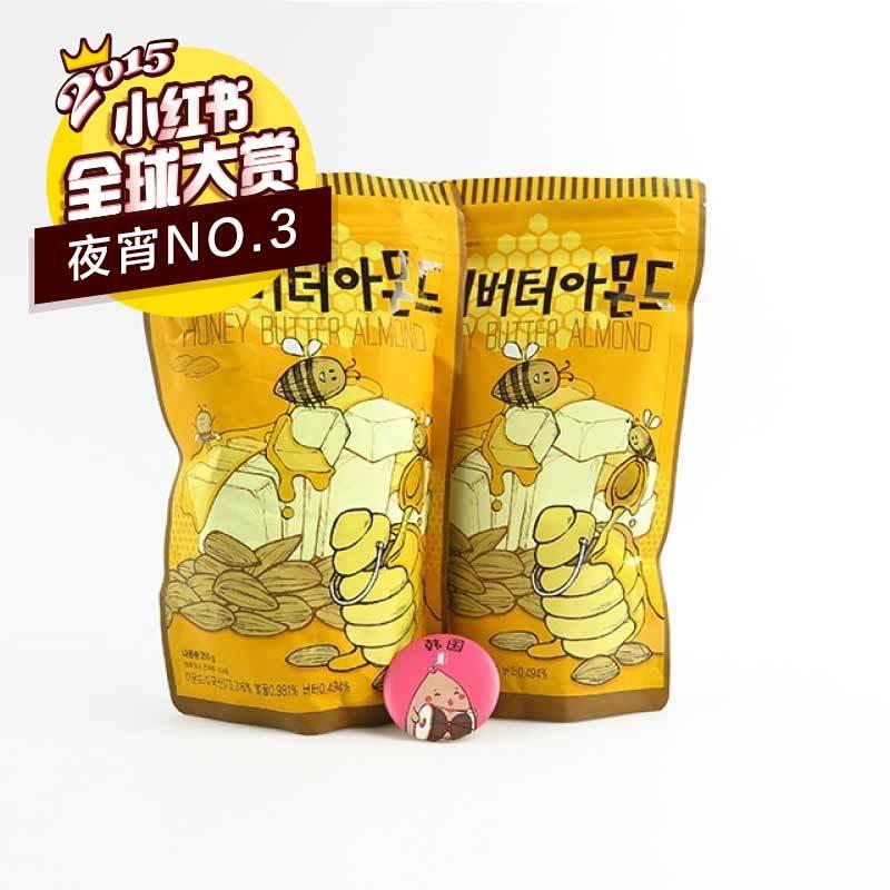 韩国gilim蜂蜜黄油杏仁250g*2