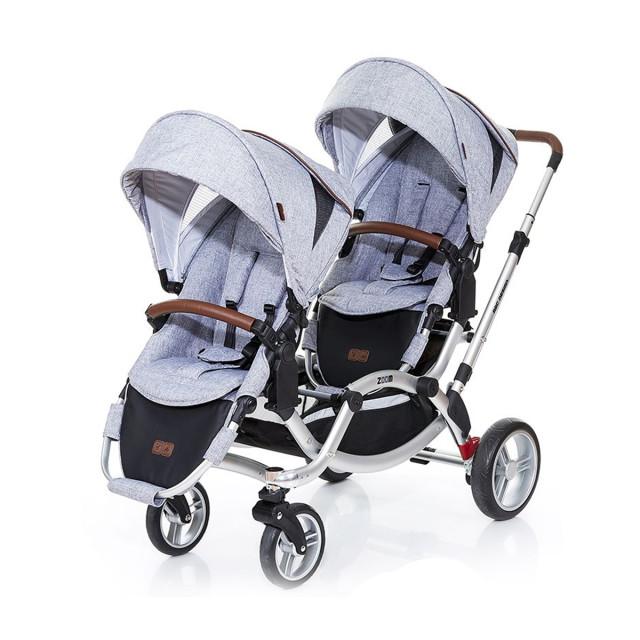 abc design zoom系列双胞胎婴儿车  ¥7288
