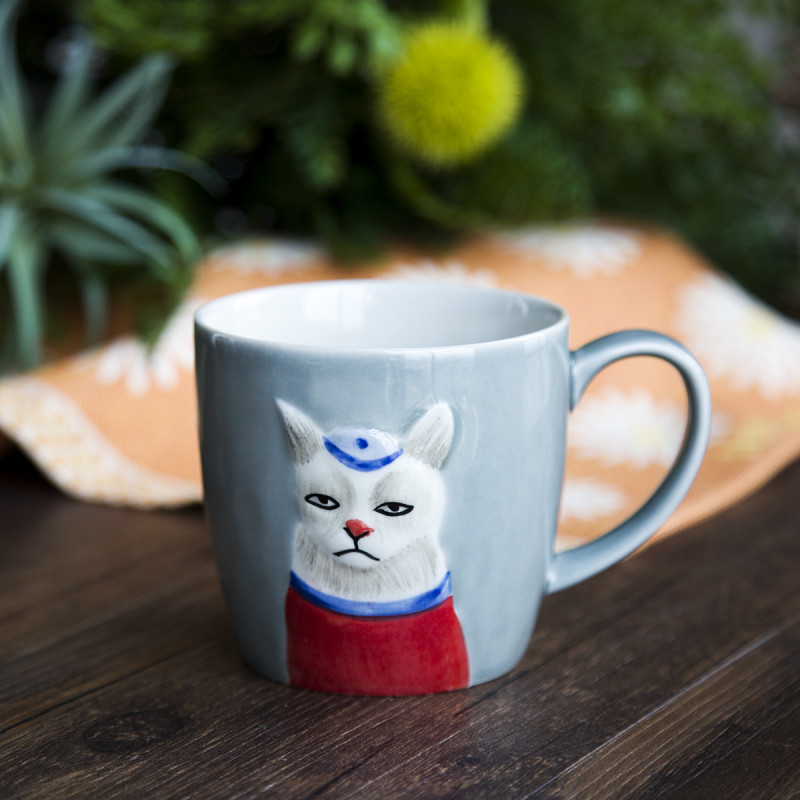 没什么特色,joyye萌宠系列马克杯就很独特,颜值非常高,充满设计感.