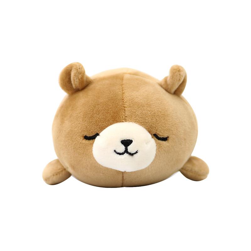 小小萌物轻松减压 · nemu nemu系列q版弹力手握玩偶 棕色 北极熊